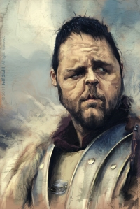 RUSSELL CROWE by Jeff Stahl mid res