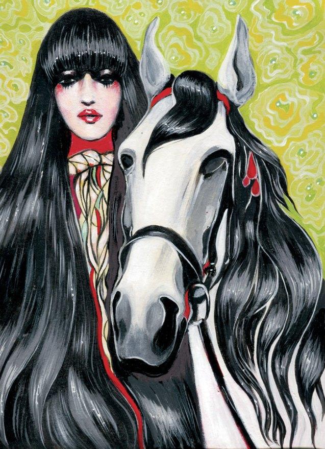 customic-arabian-horse