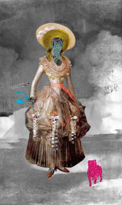 Goya - Marquesa de Pontejos - Collage