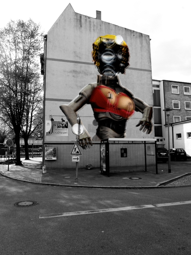 StreetArt Invasion 7 - Marilyn v1