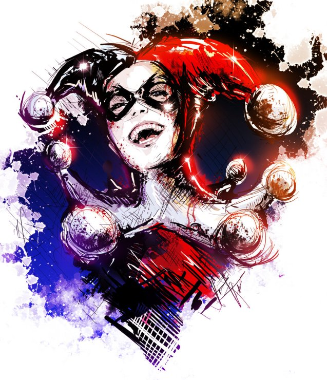 new_harley_quinn_sketch_by_vvernacatola-d5m6ifn