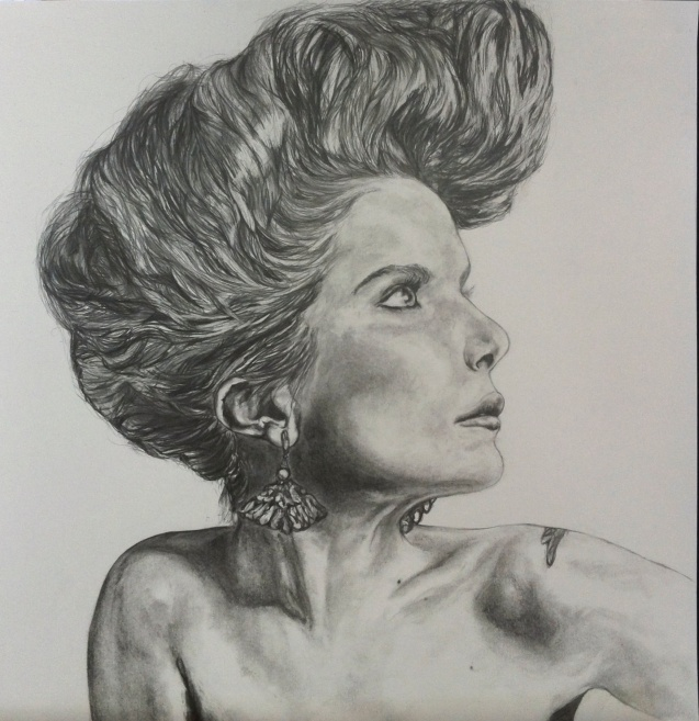 'Paloma Faith' pencil on paper
