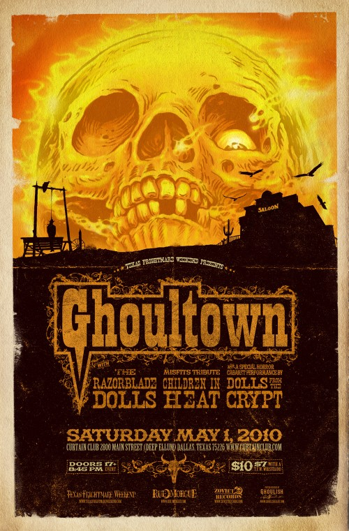 Ghoulish-Ghoultown-Poster-500x761